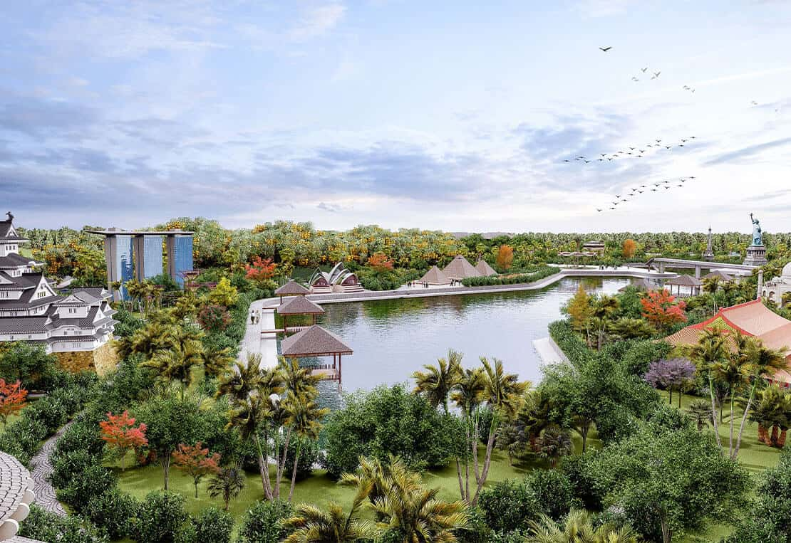 """Biệt thự Sunshine Heritage Resort – """"Xứ sở diệu kỳ"""" trong lòng phố thị"""