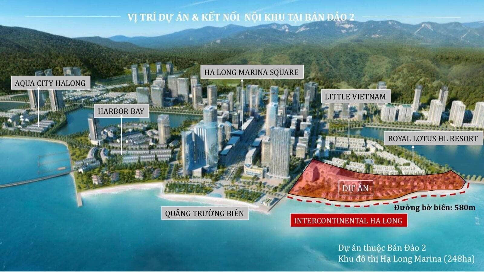 Intercontinental Hạ Long Bay Tiện ích nổi bật chỉ có tại dự án