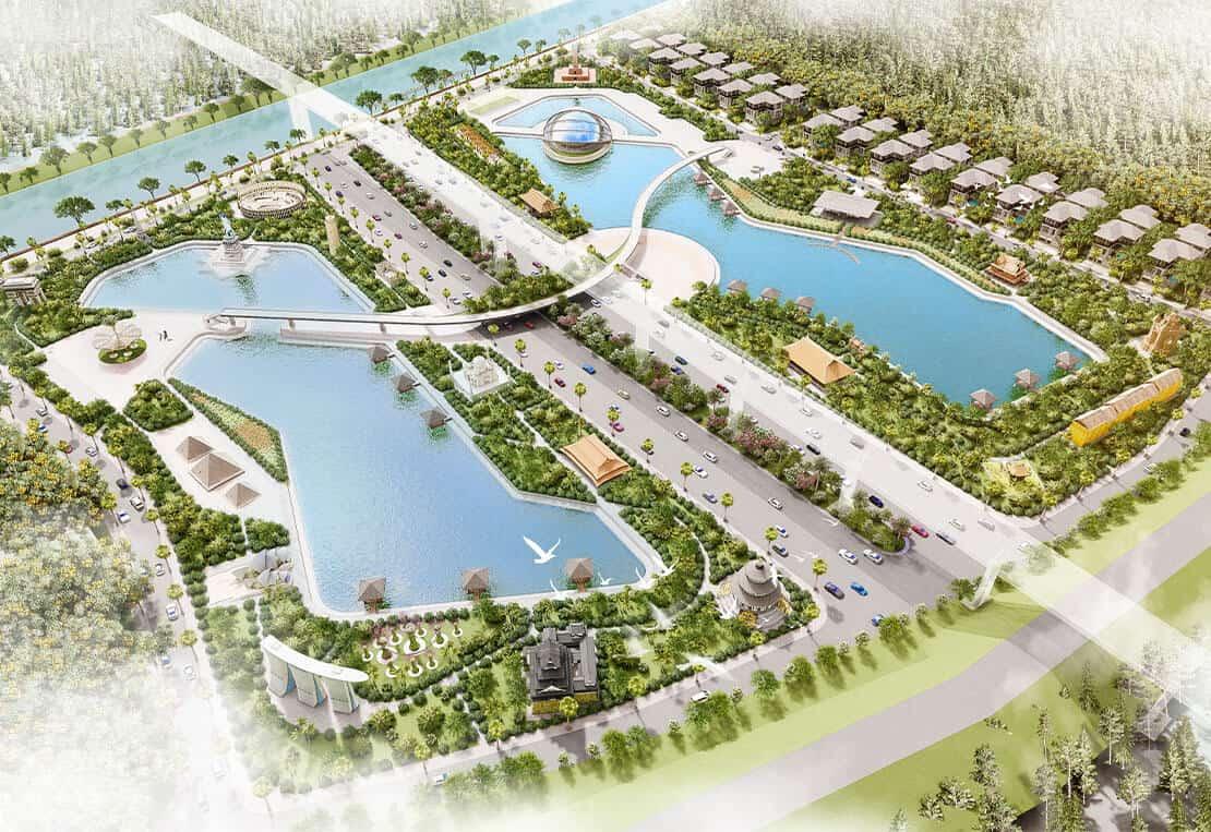 Sunshine Heritage Resort Phúc Thọ đô thị xanh phía Tây Hà Nội