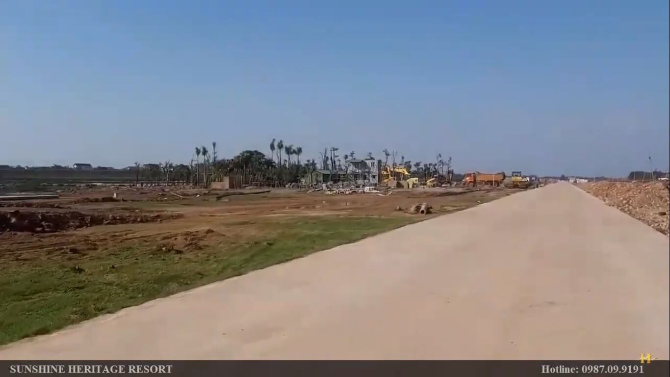 [Tiến độ] Cập nhật tiến độ Sunshine Heritage Resort T2/2021